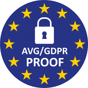 Krabbl is AVG / GDPR proof